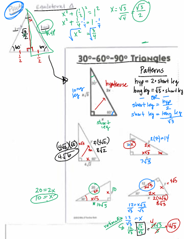 special right triangles 306090